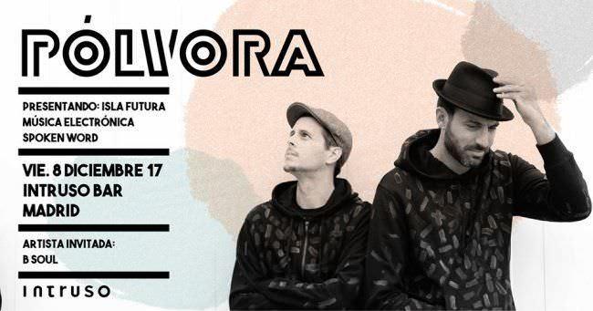Pólvora presenta Isla Futura en Madrid