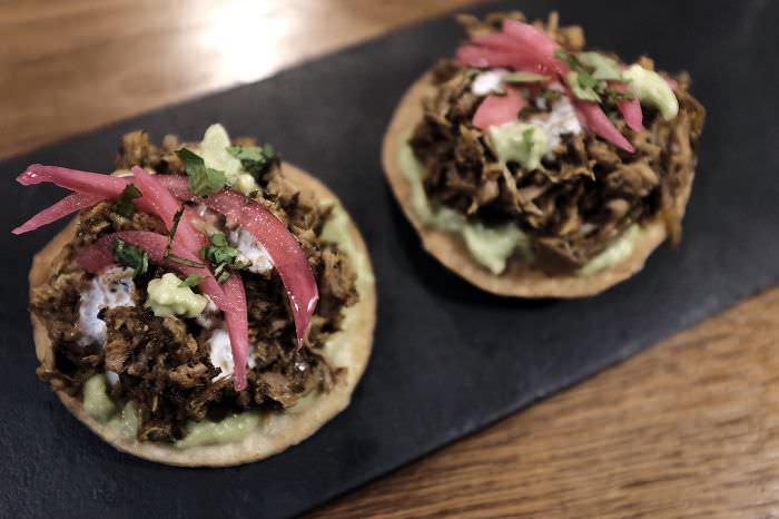 tacos La Cecilia de Allende