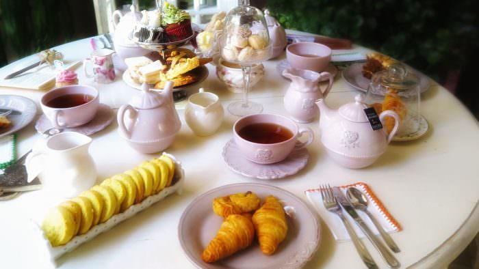 tomar té