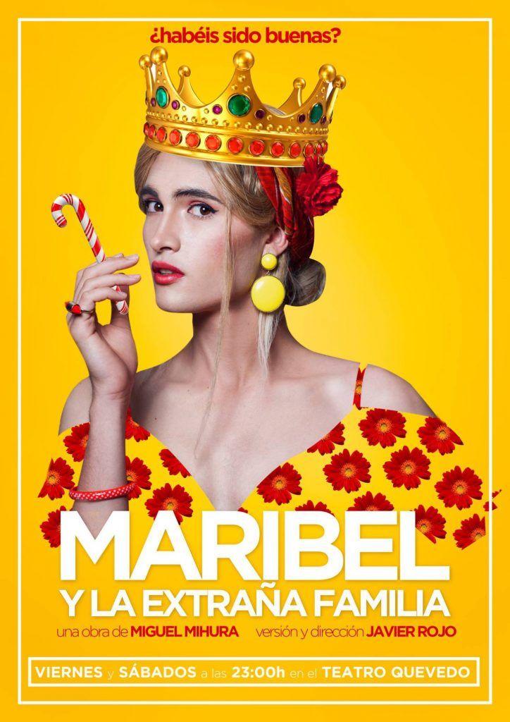 Cartel Maribel y la extraña familia