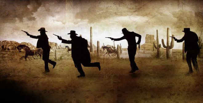 Deadtown, The Forman Brothers Wild West Show