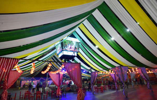 Gran caseta de la Feria de Abril en el WiZink Center