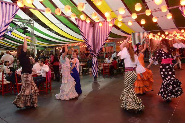 Vive la feria de abril un buen d a en madrid - Feria decoracion madrid ...