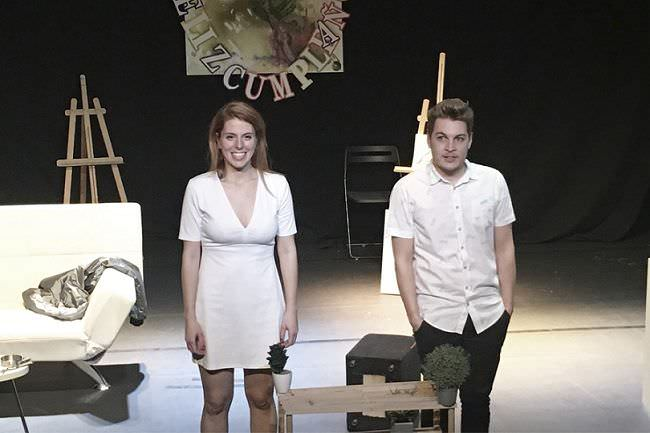 Fin es una obra de teatro distópica