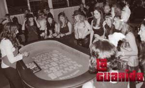 Restaurante casino despedida de soltera