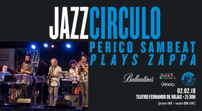 Perico Sambeat actuara en el Circulo de Bellas Artes