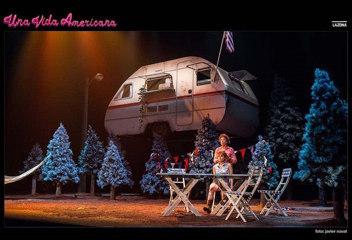 Una vida americana en el Teatro Galileo