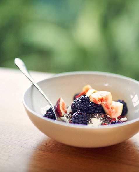 yogur con higos