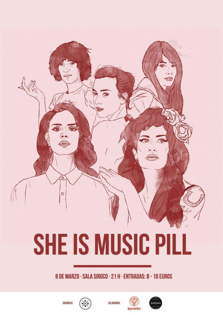She Is Music Pill - Un buen día en Madrid