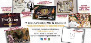 Escape college - escapismos madrid
