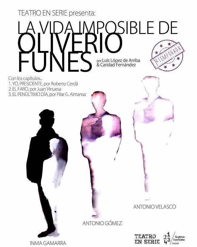 Oliverio Funes va cambiando de cuerpo