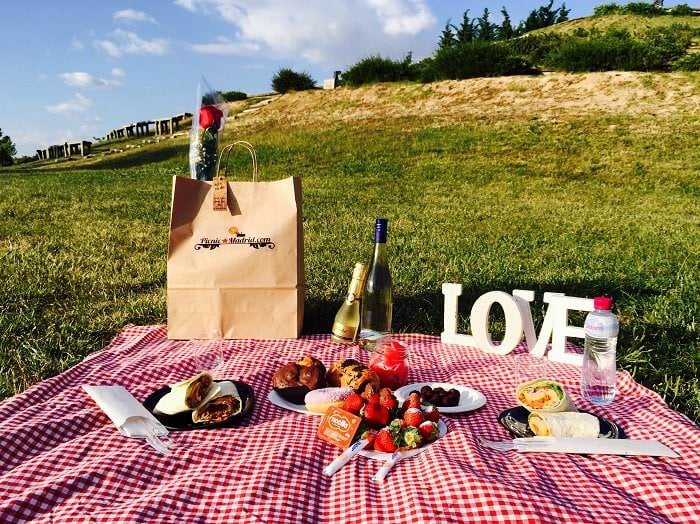 picnic especial para san valentin