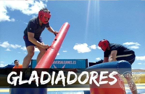 Lucha de gladiadores en Universal Games