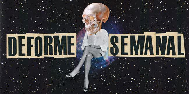 Cartel de Deforme Semanal en el Teatro Arlequín Gran Vía