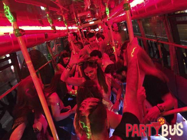 partybus despedida de soltera en madrid