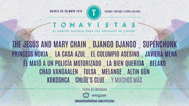 Cartel Festival Tomavistas 2018