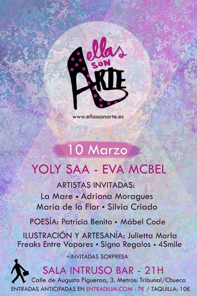 Festival Ellas Son Arte - Un buen día en Madrid