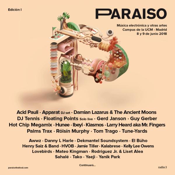 cartel festival Paraíso