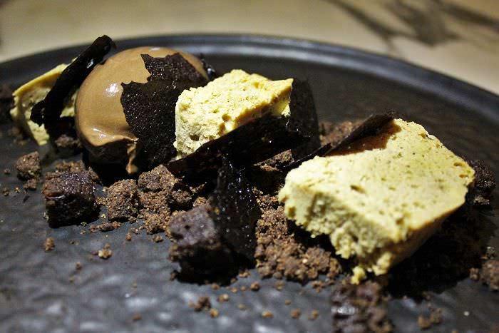 Chocolate postre Romola