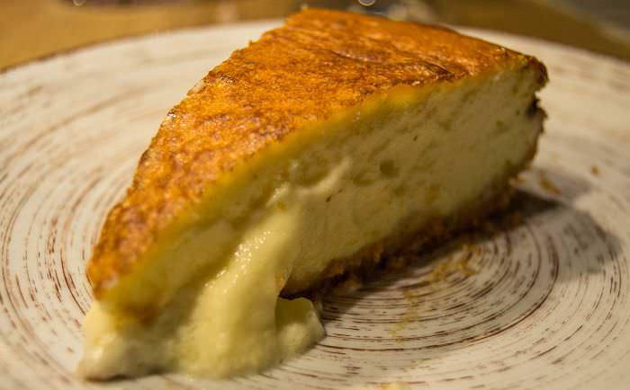 cremosa tarta de queso