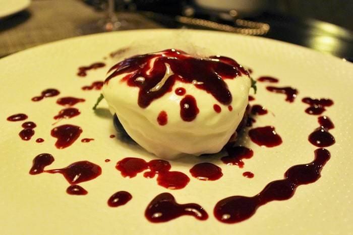 Espuma de yogurt ecológico Dogma