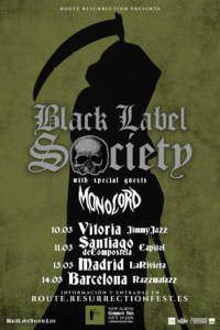 Black Label Society en Madrid