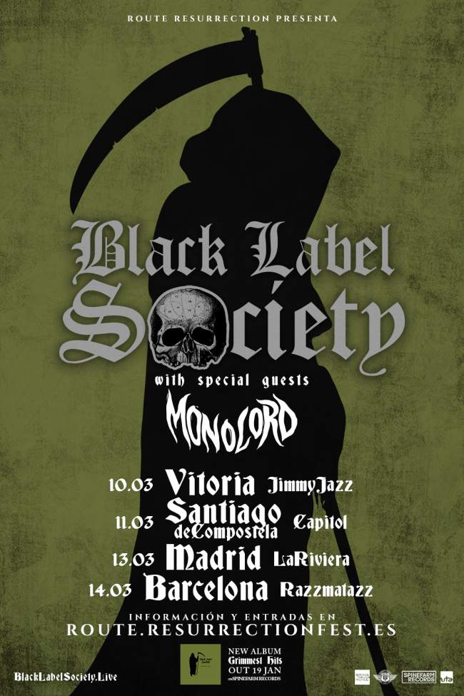 Black Label Society en Madrid