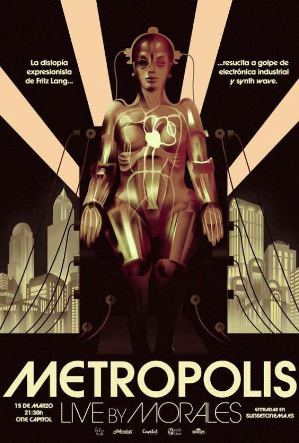Metrópolis, con banda sonora en directo - Un buen día en Madrid