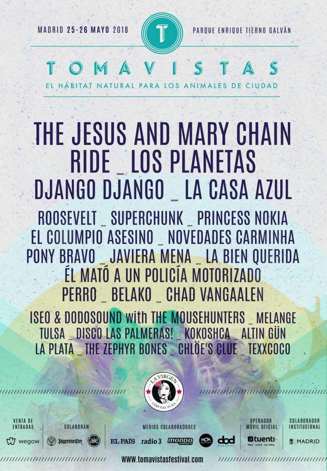 Festival Tomavistas cierra su cartel