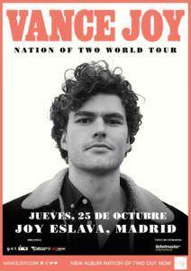 Vance Joy estará en octubre en Madrid