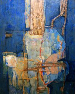 Pintura abstracta de Manuel Beltrán