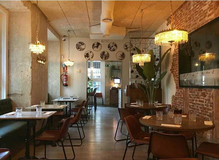 Interior restaurante Sr.Ito Lab