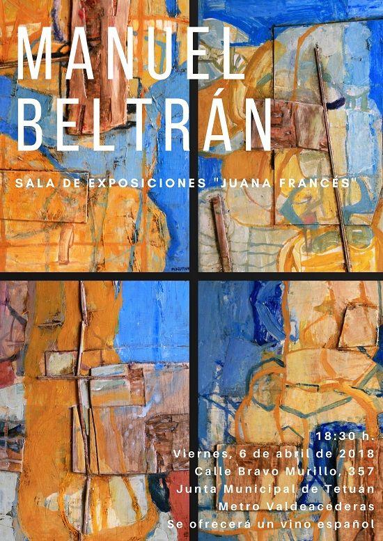 Inauguración de la exposición de Manuel Beltrán