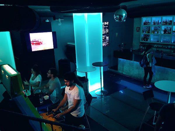 Next Level Arcade Bar - Un buen día en Madrid