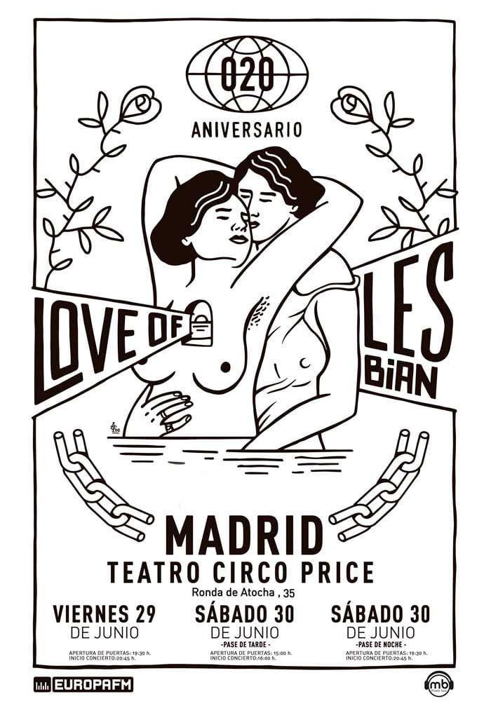 Concierto Love Of Lesbian en Madrid - Un buen día en Madrid