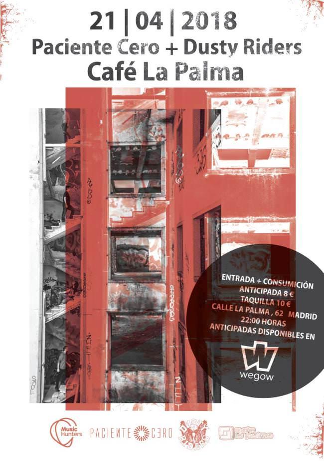 Paciente Cero en Café La Palma