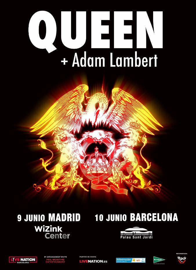 Concierto QUEEN + Adam Lambert en Madrid - Un buen día en Madrid