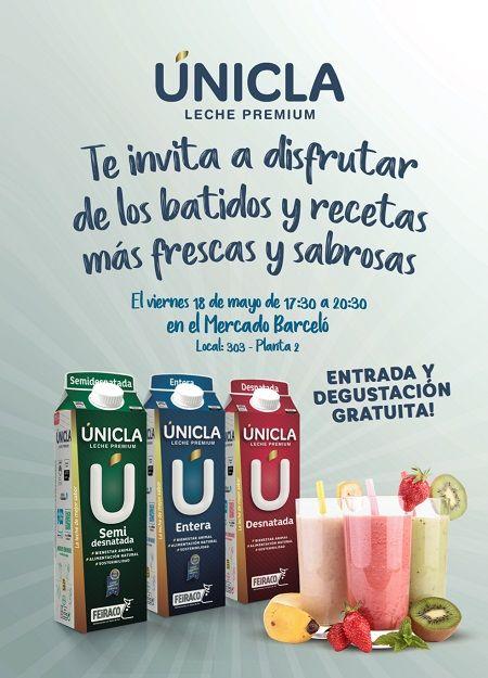Cartel promoción batico únicla