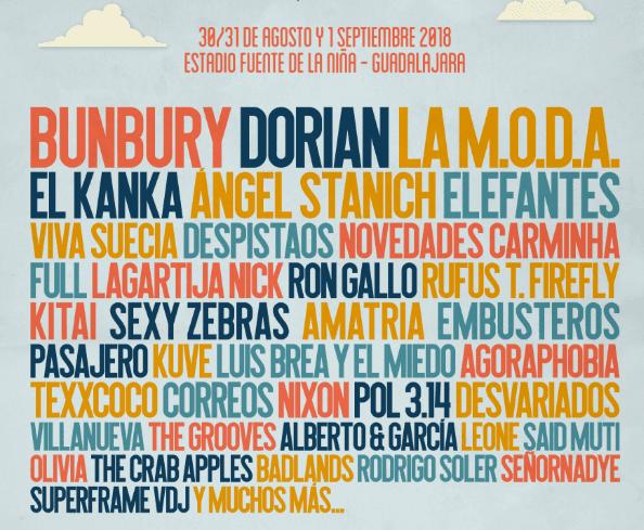 Gigante festival 2018 - Un buen día en Madrid