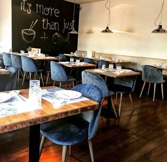 Interior Restaurante Matcha