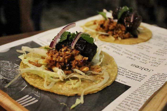 Taco costilla La Gastro Salvaje