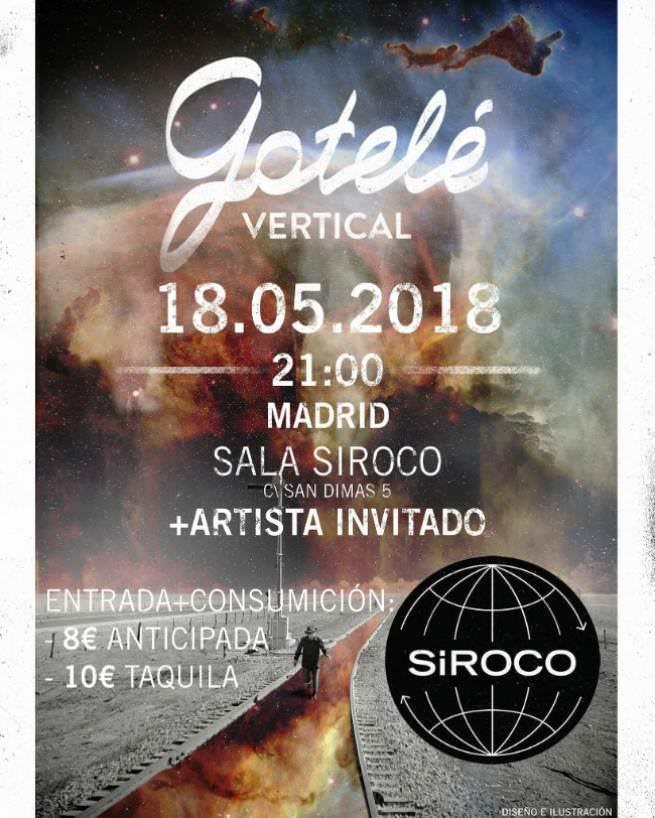 Gotelé presenta disco en Madrid