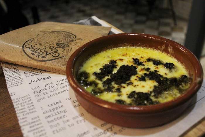 queso chorizo Gastro Salvaje