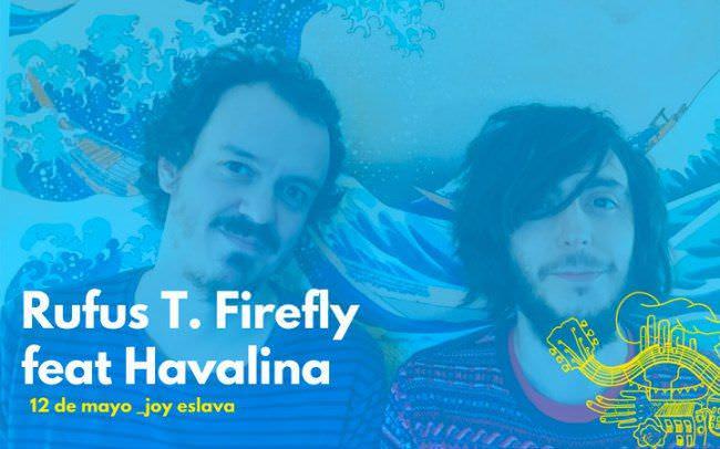 Rufus T. Firefly y Havalina presentan Bandada