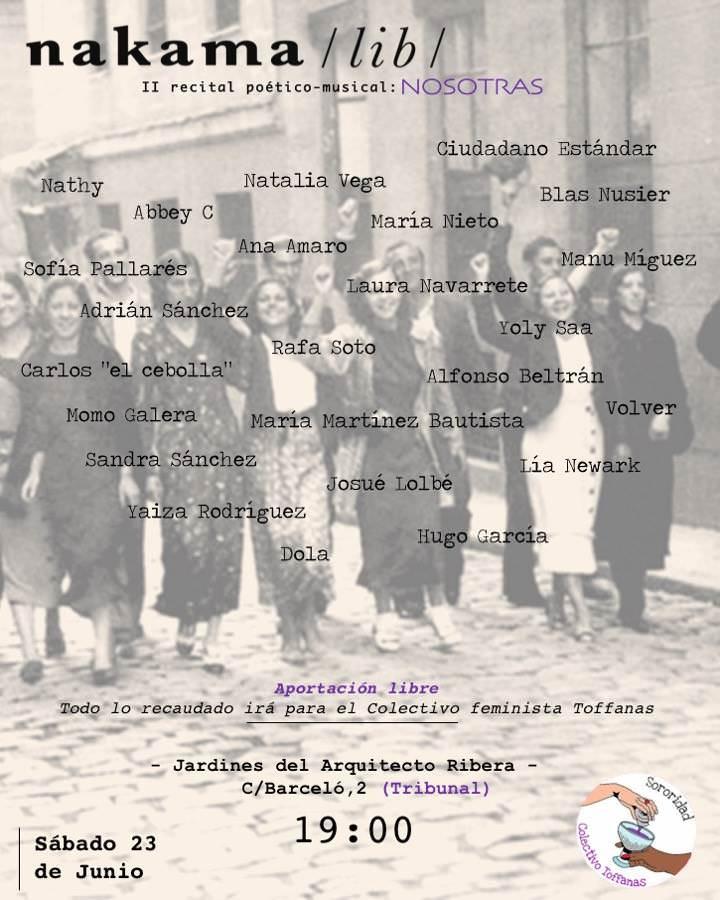 II Recital poético-musical Nakama - Un buen día en Madrid