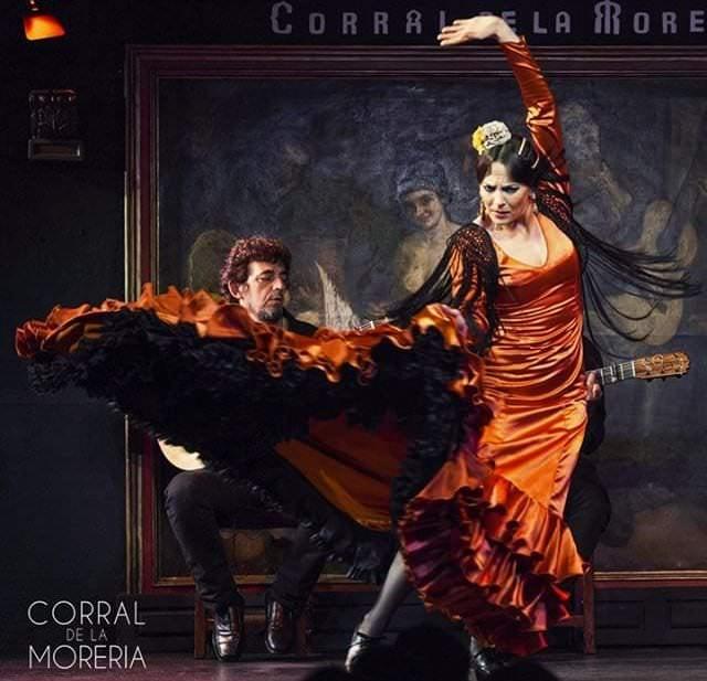 Baile flamenco en Corral de la Morería