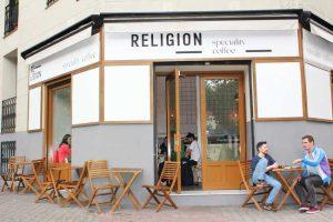 Terraza de Religion Coffee
