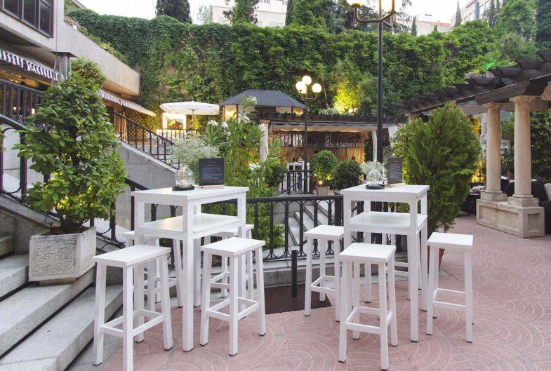 Restaurante El Jardín en el Hotel Miguel Ángel