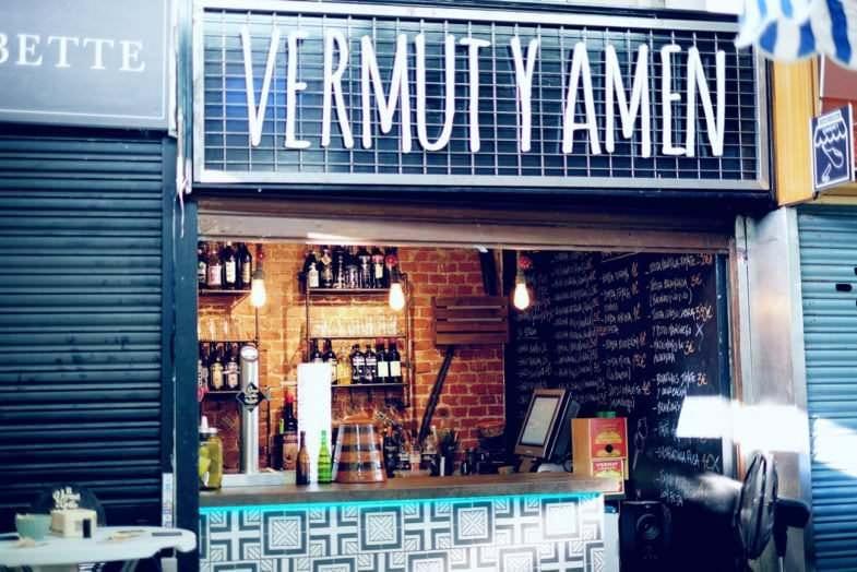 Puesto Vermut en el Mercado de Vallehermoso