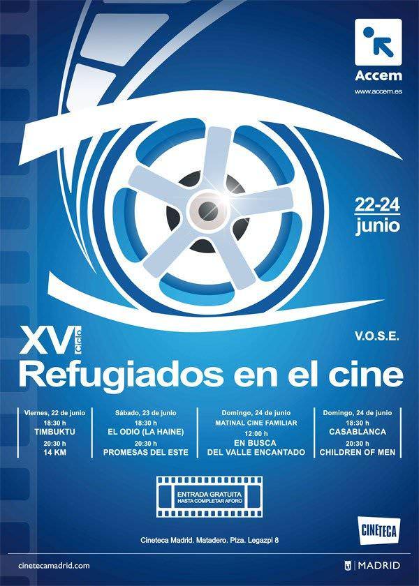XVI Ciclo Refugiados en el cine - Un buen día en Madrid